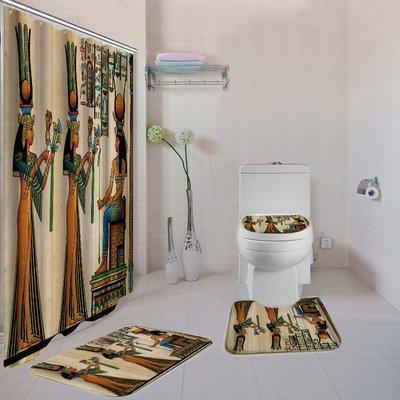 Girls Rule the World 4-piece Bathroom Set