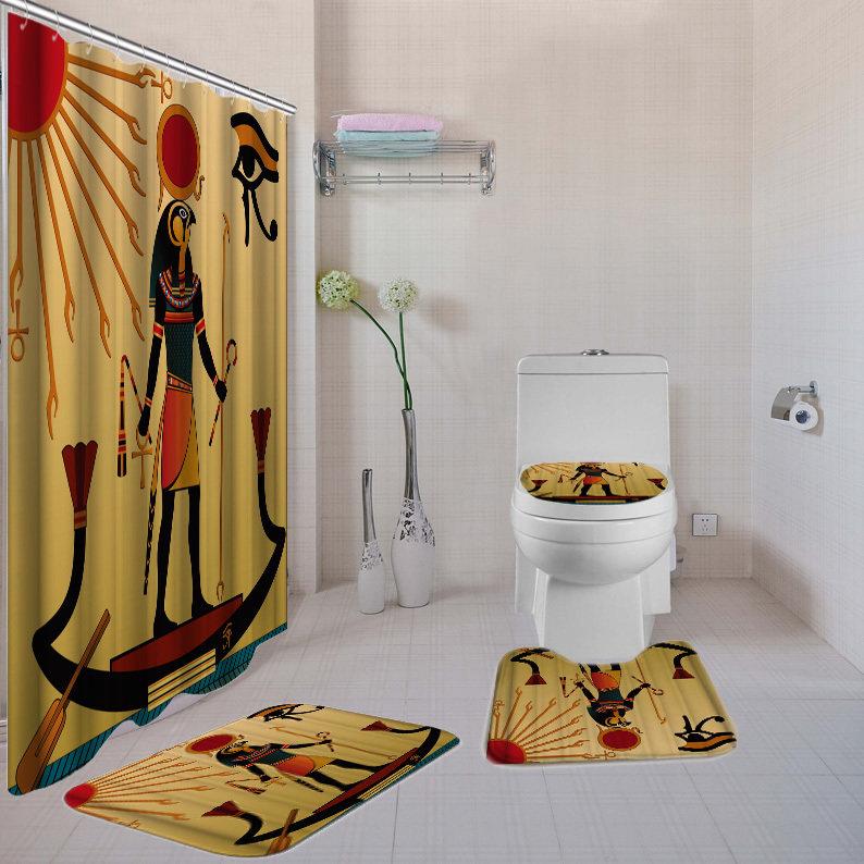 Eye of Horus 4-piece  Bath Set