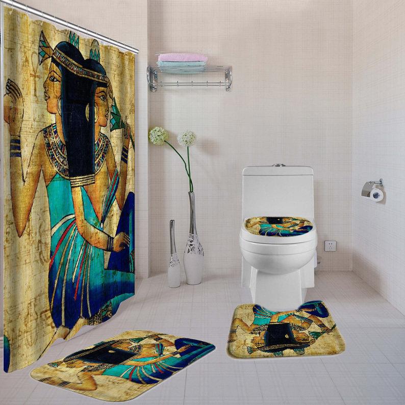 Egyptian Queens 4-piece  Bath Set