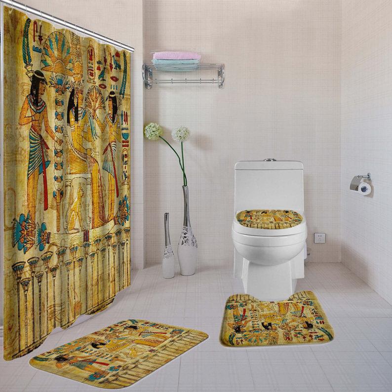 Old Egyptian 4-piece  Bath Set