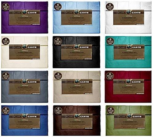 Queen Aloe Vera 6-Piece Bamboo Sheet Set