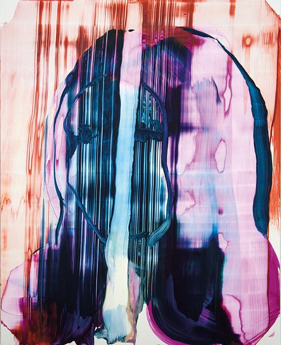 Meta Color 06, acrylic on Yupo paper   Bartosz Beda   Paintings
