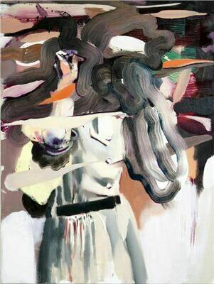 Goggle Woman I | Painting | Artworks | Bartosz Beda