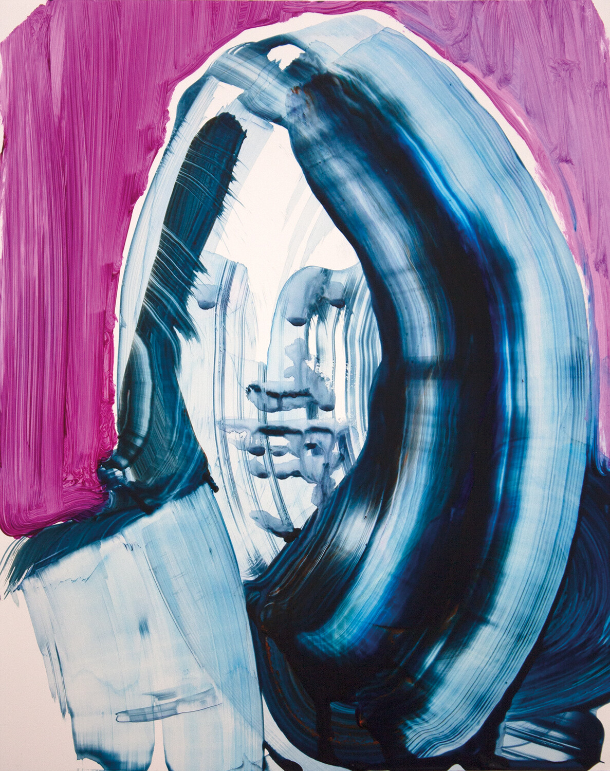 ​Meta Color 05, acrylic on Yupo paper | Bartosz Beda | Painting