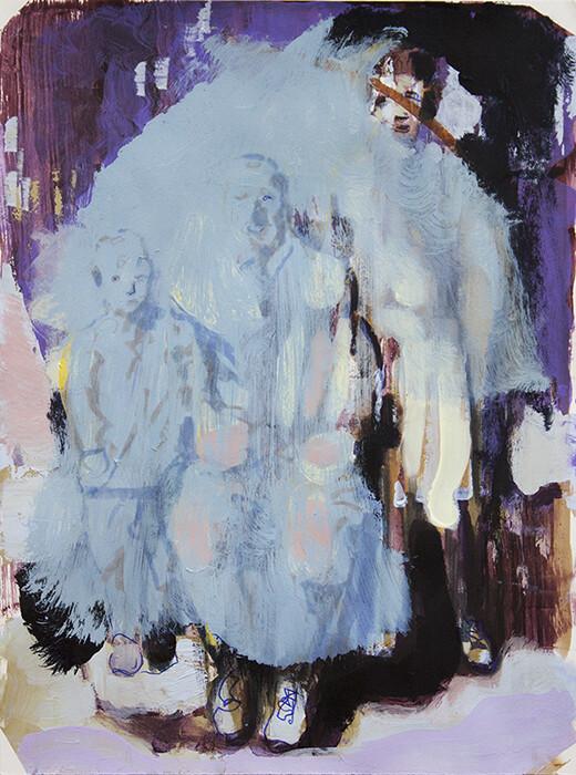 Family Memories VII, oil on canvas | Original Artwork | Painting | Bartosz Beda