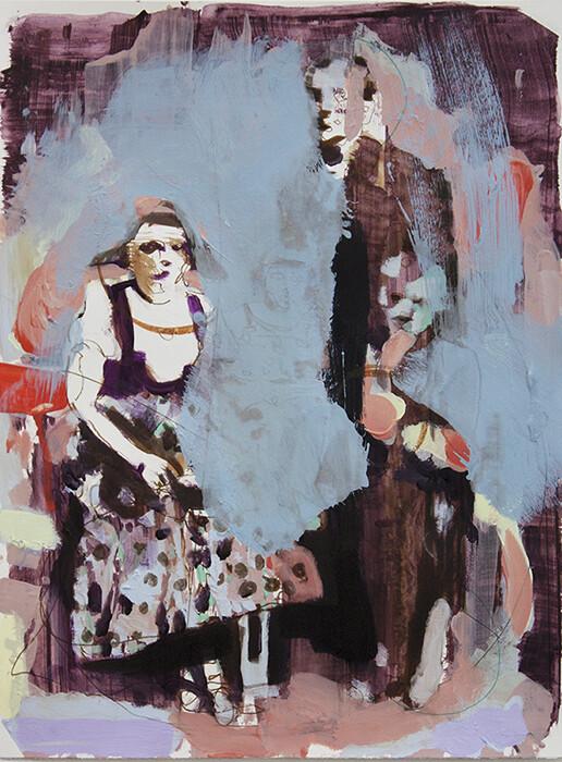 Family Memories VI, oil on canvas   Original Artwork   Painting   Bartosz Beda