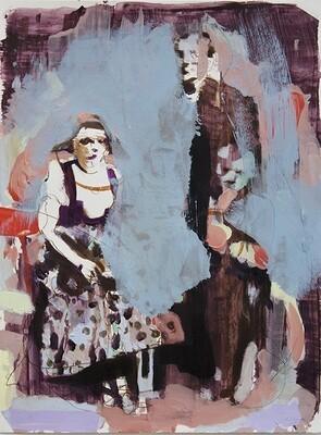 Family Memories VI, oil on canvas | Original Artwork | Painting | Bartosz Beda