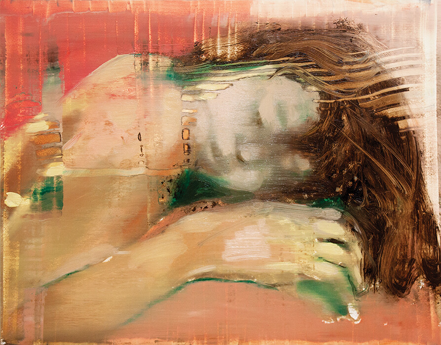 Ascendancy (study) III | Original Painting | Artwork | Bartosz Beda