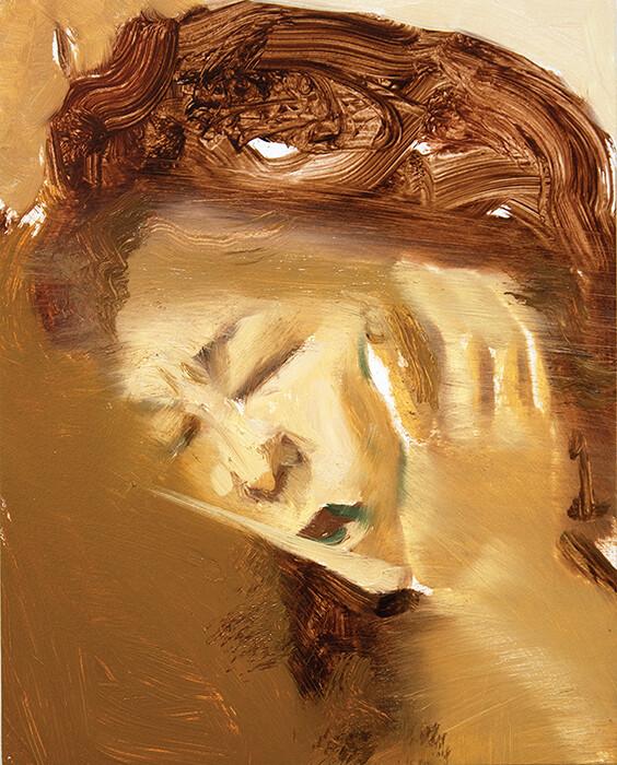 Ascendancy (study) V   Original Painting   Artwork   Bartosz Beda