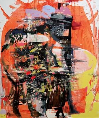 Cross Adventure | Oil on Canvas | Bartosz Beda | Original Artwork