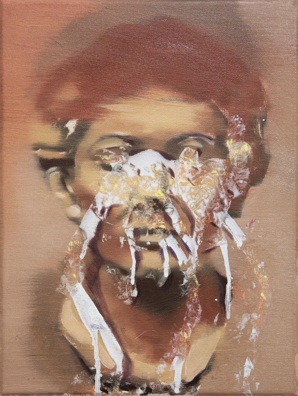 Marble - Portrait of Woman II | Original Artwork | Painting in Oils