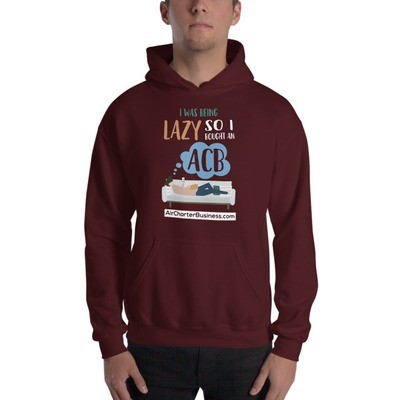 Being Lazy Hooded Sweatshirt