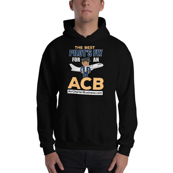 The Best Pilot Hooded Sweatshirt