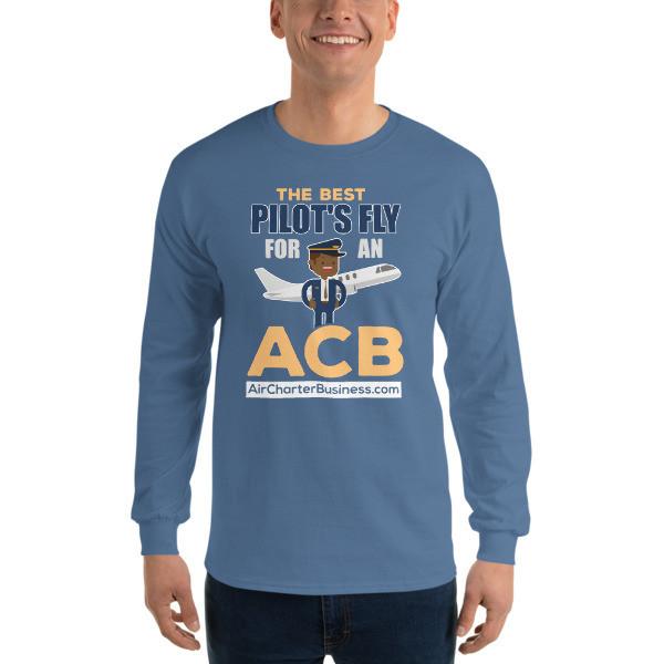 The Best Pilot 3  Long Sleeve T-Shirt