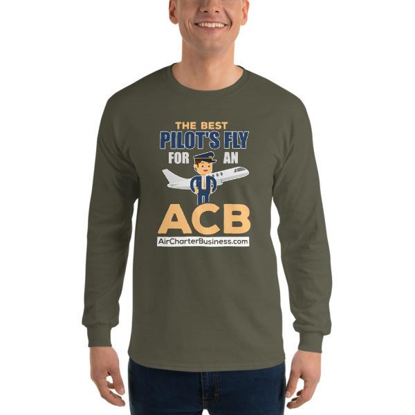 The Best Pilot 1 Long Sleeve T-Shirt