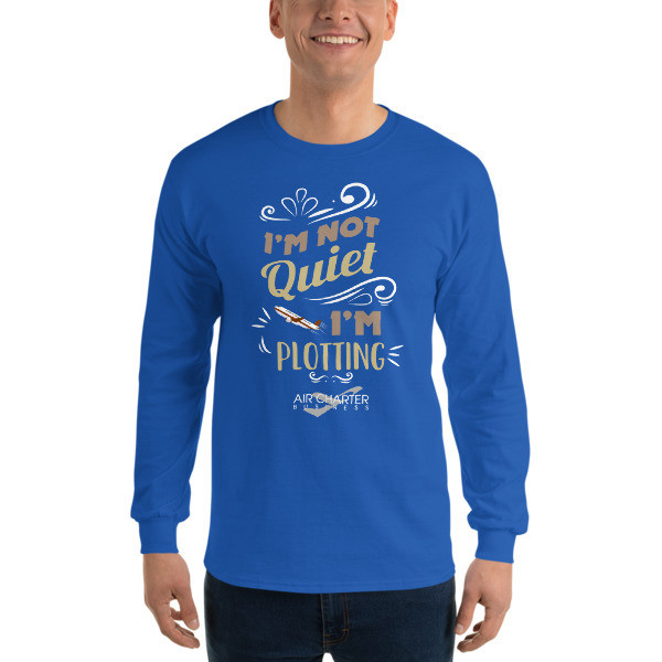 Plotting Long Sleeve T-Shirt