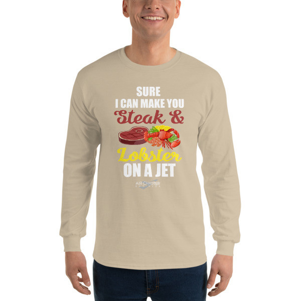 Steak & Lobster Long Sleeve T-Shirt