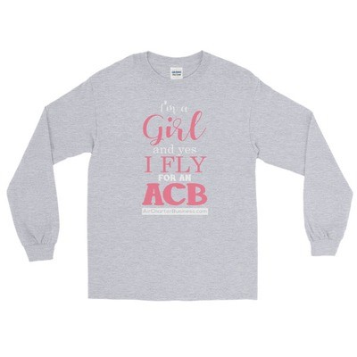 A Girl Long Sleeve T-Shirt