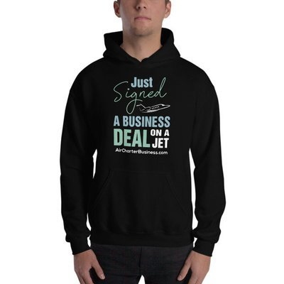 Business Deal Hooded Sweatshirt