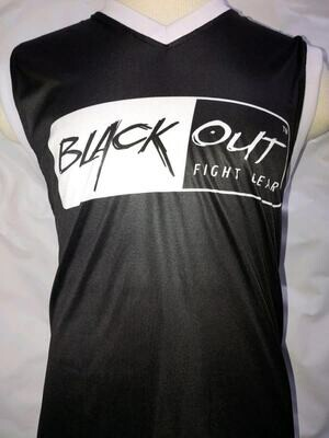 BLACK OUT WORKOUT TANKTOP