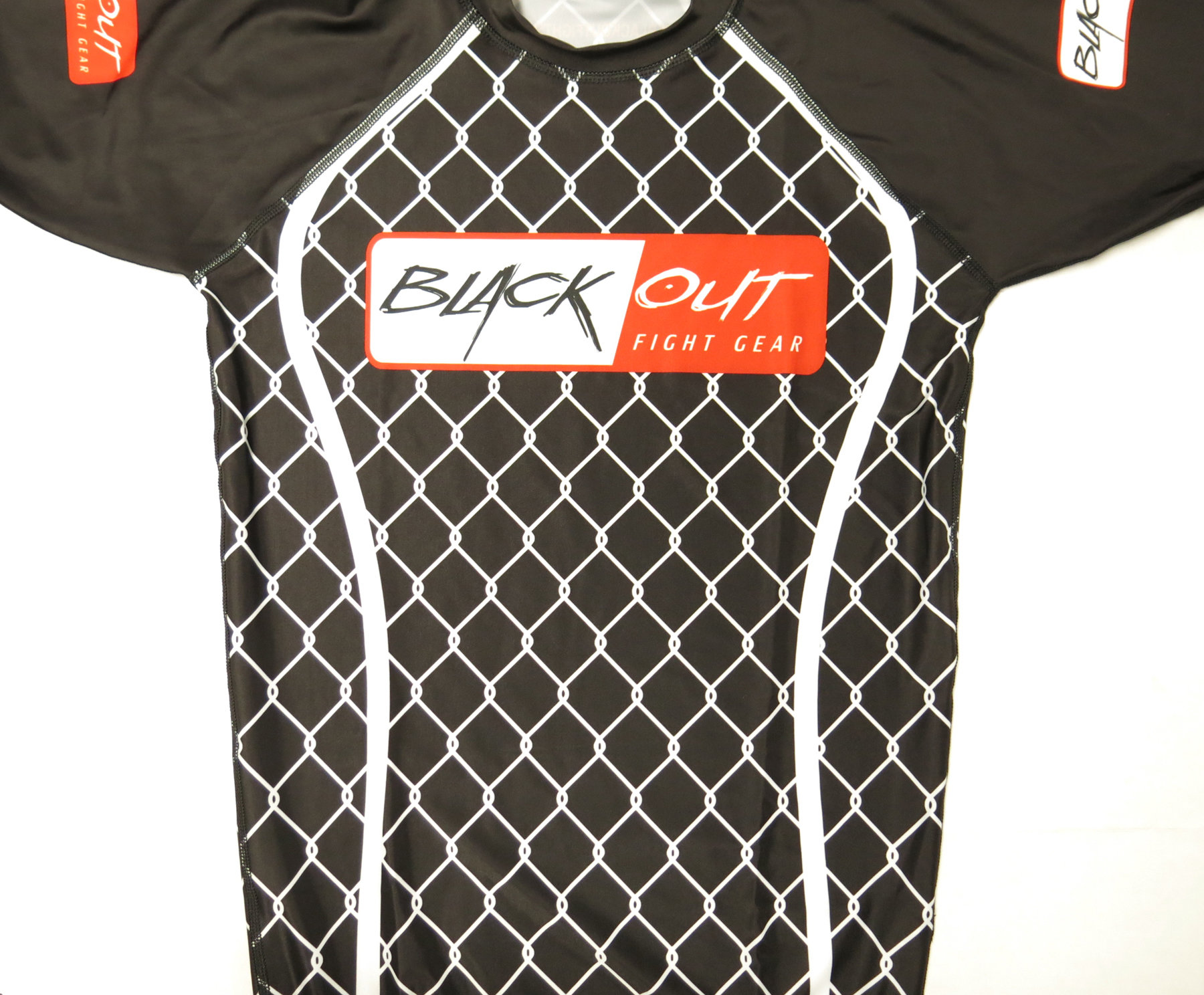 BLACK OUT RASH GUARDS BO134