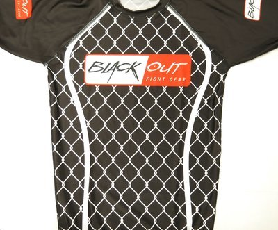 BLACK OUT RASH GUARDS