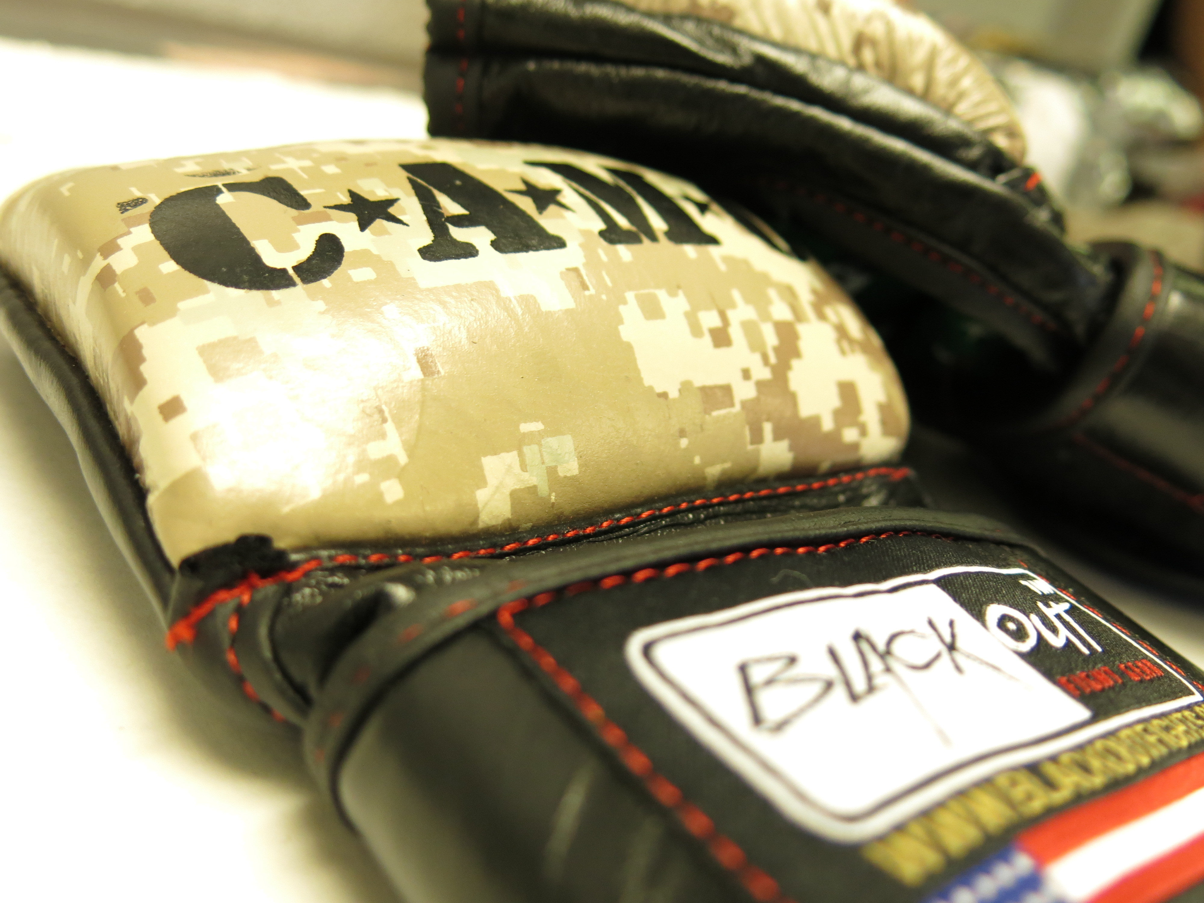 CAMO APPROVED AMATEUR MMA GLOVES BO26