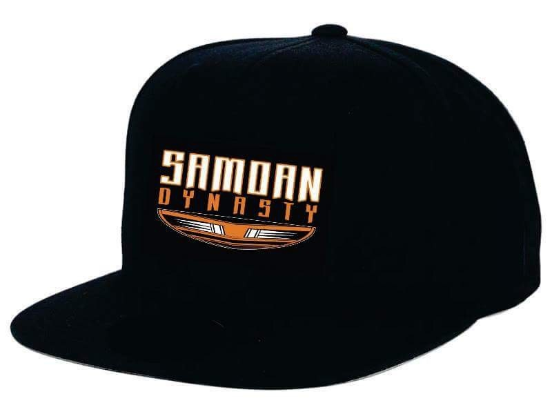 Samoan Dynasty Snapback Cap in Black SD20