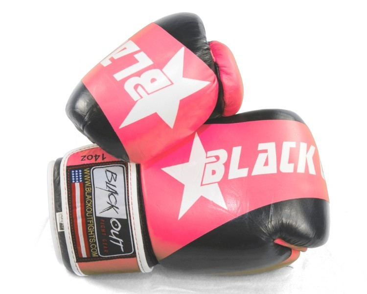 ADVANCED PINK AND BLACK GYM GLOVE BO500