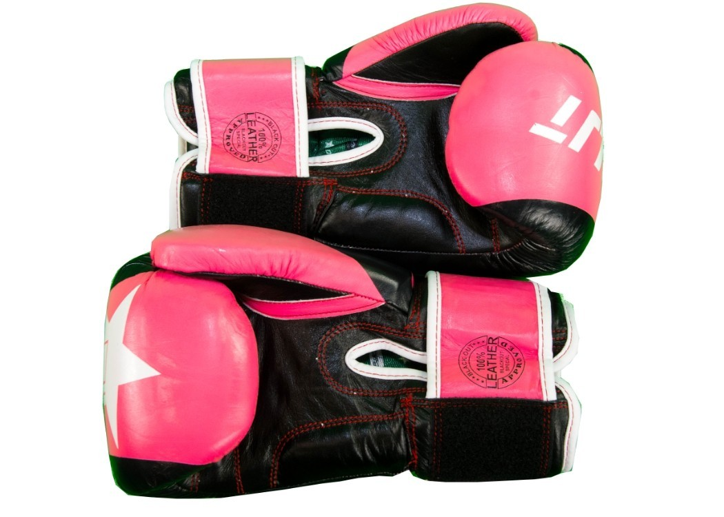 ADVANCED PINK AND BLACK GYM GLOVE