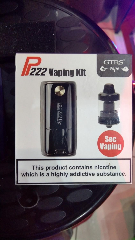 P222 full vaping kit