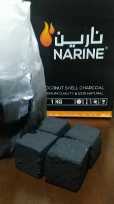 Narine Coconut Coal - Small & Large Cubes