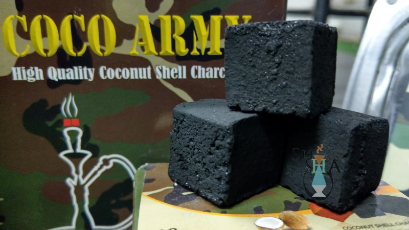 Coco Army Coconut Coal - CUBES