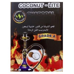 Coconut-Lite Coconut Coal - Cubes 1kg (INDONESIAN)