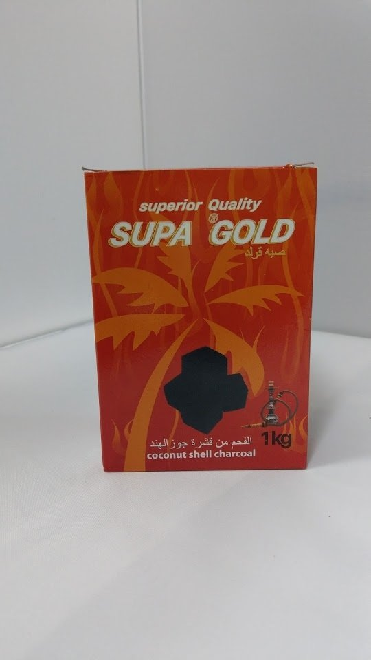 SUPA GOLD Coconut Coal - Cubes 1kg *NEW
