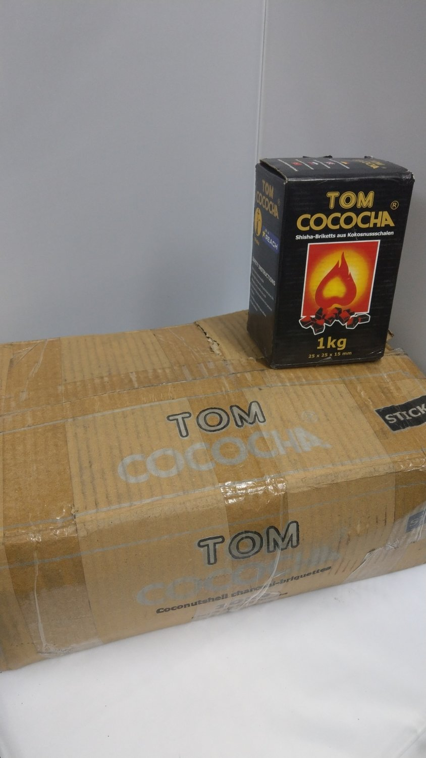 TOM COCOCHA Coconut Coal - 10KG STICKS