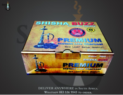 Shisha Buzz Quicklight Charcoal tablets