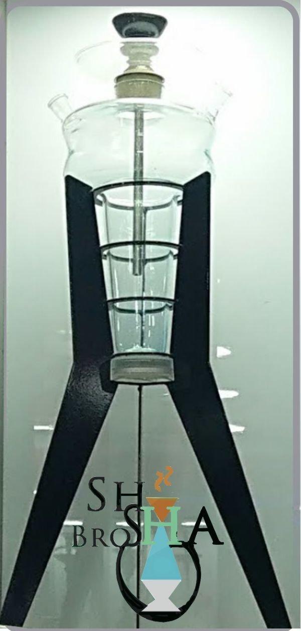 Mega Tri-Pod Glass Hookah