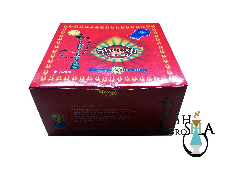Sheesh  (QL ) Quick-Lite Quicklight Charcoal tablets