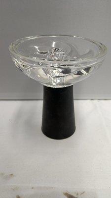 Silicone Glass Bowl - Single Piece