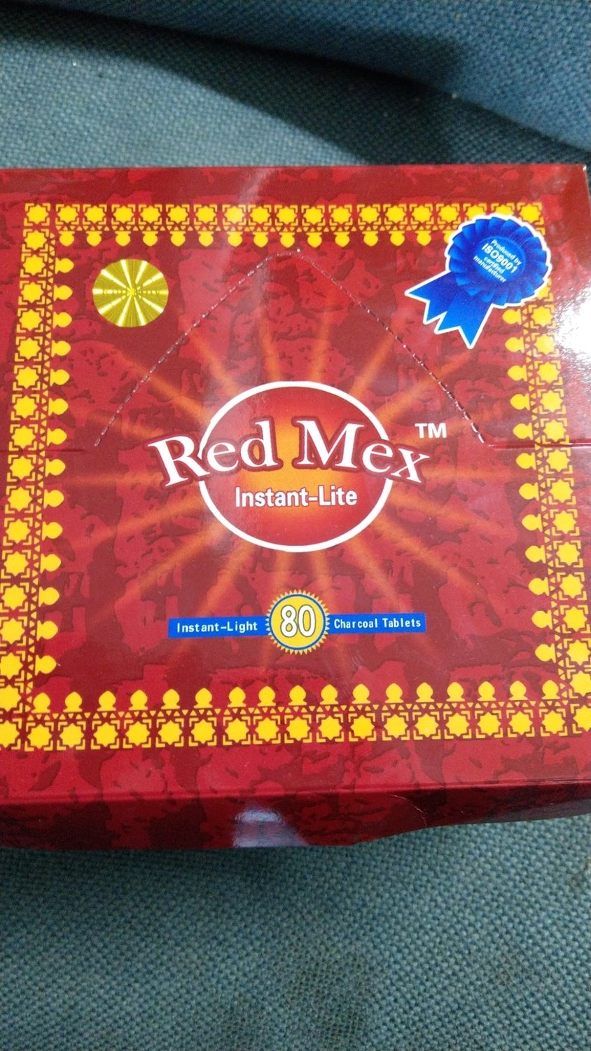 RED MEX Quick Lighting Charcoal