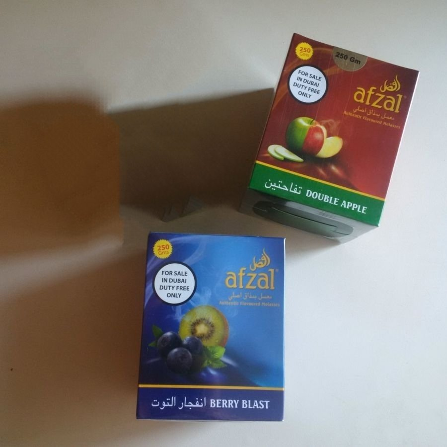 Afzal Shisha Tobacco - 250g - Double Apple