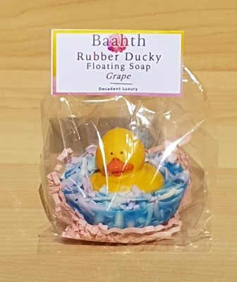 Floating Duck Soap