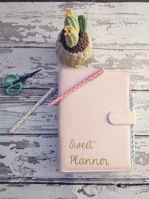 Sweet Planner agenda 2019 - com capa - STOCK LIMITADO