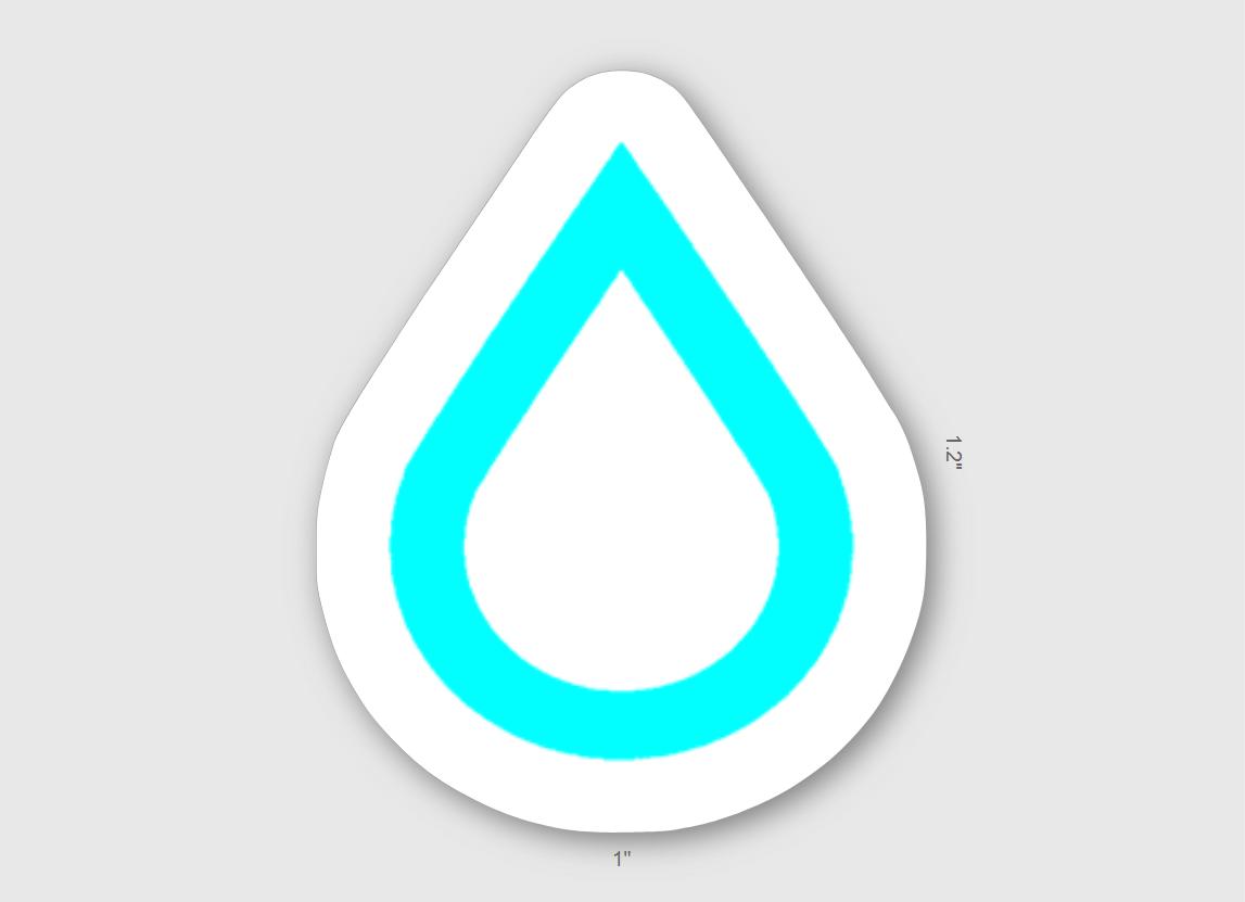 Thurst Logo Sticker 5 Pack