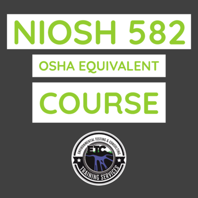 NIOSH 582 Equivalent course