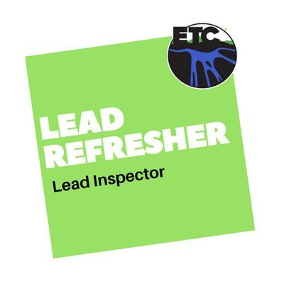 Lead Inspector – Refresher
