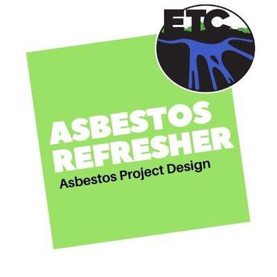 Asbestos Project Designer – Refresher (8 hours):