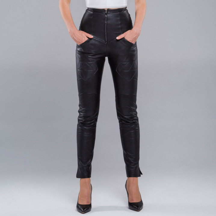 Trousers Genuine Cow Leather