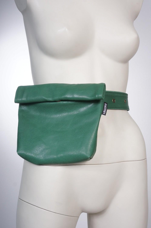 Кожаная сумка на пояс/ Leather Belt Bag